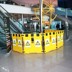 Super Gard escalator