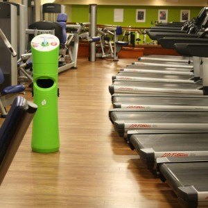 lingettes salles de sport, gymnastique, remise en forme