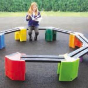 banc cercle petite enfance
