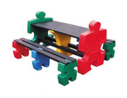 banc et table puzzle