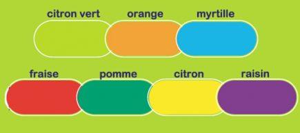 palette couleurs poubelles twist