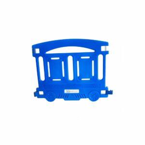 Wagon Barriere Petit Train Bleu