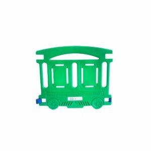 Wagon vert Barriere Petit Train