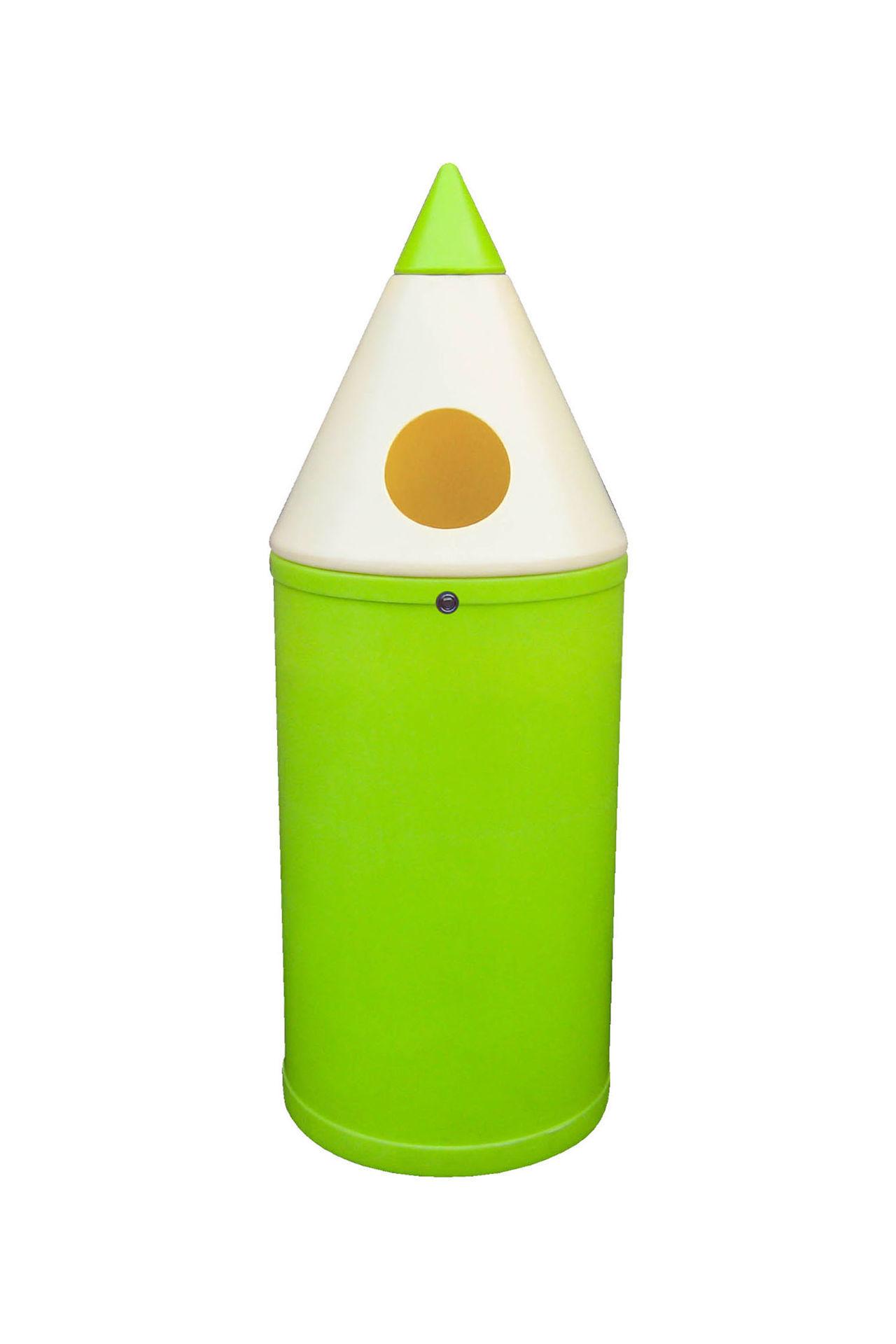 Poubelle crayon ludique espace jeux